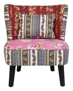 Fauteuil Club Patchwork - Rood is een sfeervolle retro stoel uit de collectie van Kare Design en is nu verkrijgbaar bij Furnies.nl! Kom snel naar onze website en bestel deze prachtige stoel!