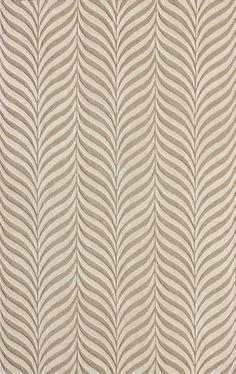 Netea Hand-Tufted Sand/Ivory Area Rug