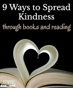 Learn nine ways to spread kindness through a love of books and reading. Perfect for kids, families, and classrooms who like random acts of kindness. Teaching Respect, Teaching Social Skills, Teaching Kids, Teaching Kindness, Kindness For Kids, Kindness Ideas, Reading Activities, Literacy Activities, Time Activities