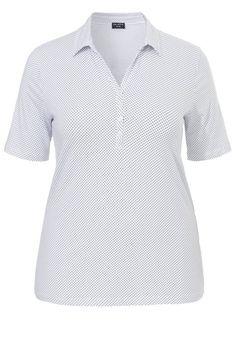 1976b0530d4 VIA APPIA DUE Softes Polo-Shirt mit Pünktchen-Design für 34