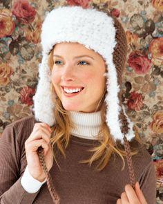 Ravelry: Lumberjack Hat pattern by Regina Rioux Gonzalez Crochet Adult Hat, Love Crochet, Crochet Baby, Knit Crochet, Crochet Scarves, Crochet Clothes, Crochet Crafts, Crochet Projects, Headband Pattern