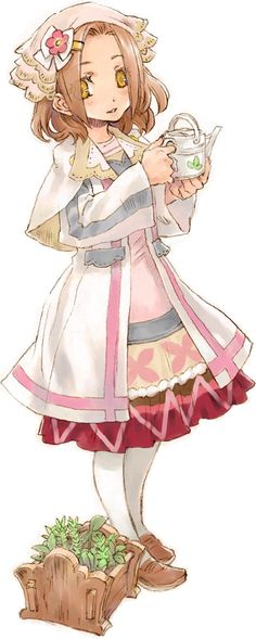 Rune Factory: Tides of Destiny - Violet