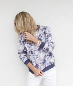 Lust, Covet, Desire - Won Hundred's Floral One Print Sweatshirt, $190.00 (http://www.lustcovetdesire.com/floral-one-print-sweatshirt/)