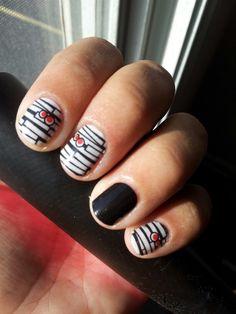 #halloween #manicure #jamberrynails #nailart
