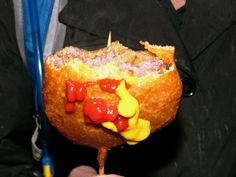 Cheeseburger - On a Stick... that would be classy right? haha
