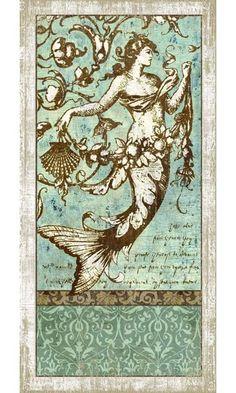 Vintage Driftwood Mermaid Sign: Beach Decor, Coastal Home Decor, Nautical Decor, Tropical Island Decor & Beach Cottage Furnishings Mermaid Sign, Mermaid Poster, Mermaid Artwork, Mermaid Mermaid, Mermaid Images, Mermaid Tattoos, Vintage Mermaid Tattoo, Mermaids And Mermen, Wow Art