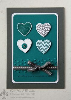 hearts a flutter stampin up - Google Search