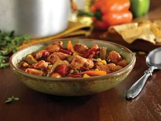 Chipotle Pork and Pepper Stew recipe using a pork loin roast. Perfect for quick and easy family dinners. Ham Recipes, Cooking Recipes, Cheese Recipes, Paleo Recipes, Free Recipes, National Pork Board, Pork Stew, Easy Family Dinners, Recipes