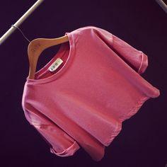 2015 Spring Summer Women Clothing Cropped Tops Loose Short Sleeve T-shirt Causal Shirt Free Shipping 14140