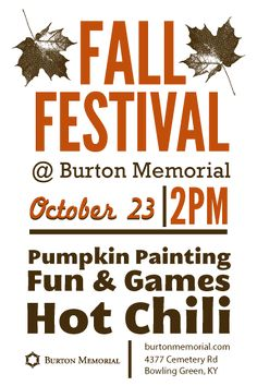 FALL FESTIVAL love this flyer @Lavonne Clifford