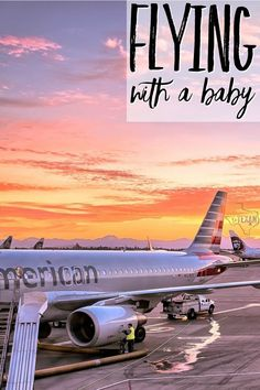 Flying with a Baby doesn't have to be miserable if you know what you're doing! Take it from this airline pilot's wife, you CAN do this! Here are her tips.