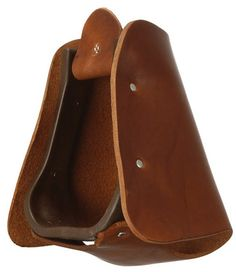 Royal King Leather Hooded Stirrup $38.99