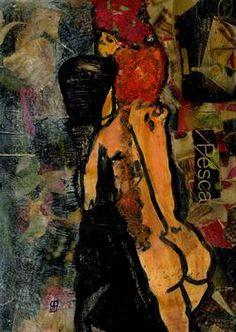 "Saatchi Art Artist CRIS ACQUA; Painting, ""7-KARMA de ARTE. Egon VII."" #art"