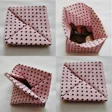 Resultado de imagem para origami de tecido