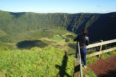 The two-and-a-half-hour hike around the rim of Faial's caldera is one of many spectacular routes for walkers © James Kay / Lonely Planet