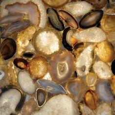 Translucent Creations | Ammonite | Backlit Marble | Backlit Onyx Countertops - Translucent Creations
