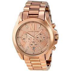 Michael Kors Bradshaw Chronograph Rose Gold-tone Watch MK5503