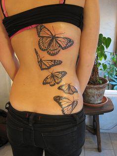 tatuagens de borboletas tinta na pele 28