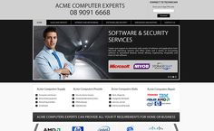 Business Introduction Website For Acme Computers
