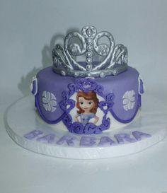 Torta Princesa Sofía 100 % Comestible.