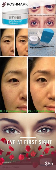 Rodan And Fields REDEFINE MULTI-FUNCTION EYE CREAM Brand new, REDEFINE MULTI-FUNCTION EYE CREAM  Multi-Function Eye Cream combines powerful peptides to minimize the appearance of crow's-feet, helps reduce appearance of both puffiness & dark under eye circles while special optical diffusers noticeably brighten the eye area. This formula is ideal for maintaining the delicate skin around the eyes.  15 mL/0.5 fl. oz  ❗️If you want a better price, you can bundle or send me a message to the e mail…