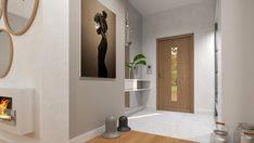 PARTER W STYLU SCANDI-BOHO Interior Rendering, Interior Design, Bathroom Lighting, Oversized Mirror, Boho, Furniture, Home Decor, Nest Design, Bathroom Light Fittings