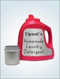 http://tipnut.com/10-homemade-laundry-soap-detergent-recipes/