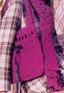 Free knitting pattern: Seriously chunky