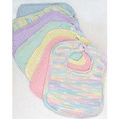 Free Bibs & Booties Knit Pattern - Free Patterns - Books & Patterns