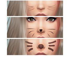 Cute Kitty mask at Cloe Sims via Sims 4 Updates