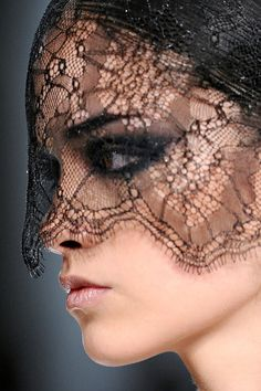 Black Lace Vail - Jason Wu Fall 2011