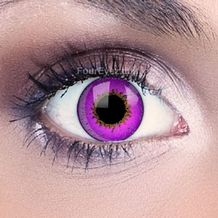 Violet 3 Tone Funky Eyes Contact Lenses