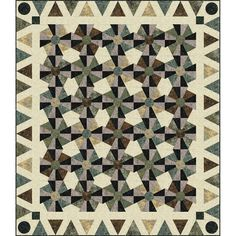 Timeless Treasures Tonga Batiks Canyon Set in Stone Quilt Kit Turtle Pattern, Bow Pattern, Daisy Pattern, Wave Pattern, Batik Quilts, Panel Quilts, Hancocks Of Paducah, Halloween Patterns, Quilt Kits