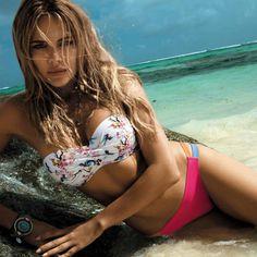 Liva girl Sexy Bandeau bikini set Push Up brazilian swimsuit Micro bikini mesh swimming summer 2019 Set Beach Wear Bathing Suit Bikini Bandeau, Bikini Swimsuit, Sexy Bikini, Bikini Top, Bikini Fitness, Girl Pool, Triangle Swimwear, Floral Bikini Set, Beach Wear