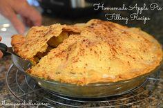 Homemade Apple Pie Filling Recipe