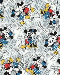 Micky y Minnie vintage