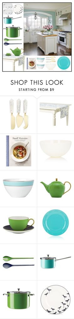 """Wow! That's Cooking"" by loveartrecyclekardstock ❤ liked on Polyvore featuring interior, interiors, interior design, home, home decor, interior decorating, Thirstystone, Maison du Linge, Chronicle Books and Untitled Homeware"