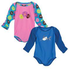 Sun Smarties Baby Rash Guard-Style Swimsuit