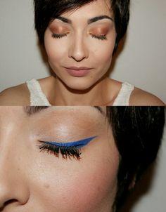 Tendencia primavera - verano 2015 en sombras de ojos y delineado #makeup #trend