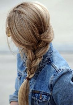 I will always love side do's especially with the braid! So playful and fun