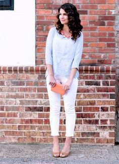 A pair of Gap jeans as featured on the blog Signe Roo.