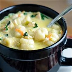 Chicken and Gnocchi Soup, photo by KGora