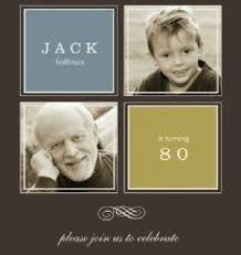 Resultado de imagen para invitaciones de cumpleaños adultos 80 años