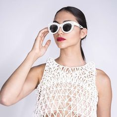 Something we liked from Instagram! DANIT PELEG CREATES FULL 3D-PRINTED FASHION COLLECTION AT HOME - For her diploma in fashion design at Shenkar College Tel Aviv Peleg Danit decided to work with 3D printing to see if it was possible to create an entire garment using this technology. The answer is yes. Great work. #isodo3d #3dprint #3dprinted #3dprinter #3dscanner #3dprinting #3dscanning #fashion #dress #catwalk by isodo3d check us out: http://bit.ly/1KyLetq