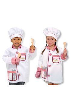 Melissa & Doug Chef Costume (Toddler) available at #Nordstrom