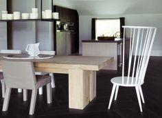 www.AlmaParket.nl Piet boon Herringbone de houten visgraat vloer voor een mooi woon interieur.