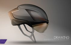 SCOTT Helmet by ROUSSEAU Tony, via Behance
