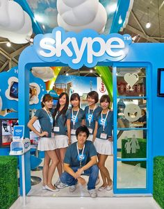 Skype exhibition at