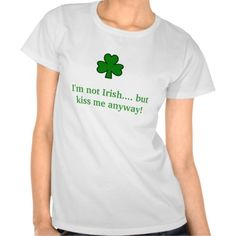 >>>Best          shamrock, I'm not Irish.... but kiss me anyway! T Shirt           shamrock, I'm not Irish.... but kiss me anyway! T Shirt We have the best promotion for you and if you are interested in the related item or need more information reviews from the x customer who are own o...Cleck Hot Deals >>> http://www.zazzle.com/shamrock_im_not_irish_but_kiss_me_anyway_tshirt-235048227517783123?rf=238627982471231924&zbar=1&tc=terrest
