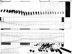 graphics Stefan van Biljon – The Third Man: Film Analysis, Master of Architecture II Fa. Stefan van Biljon - Der Dritte Mann: Filmanalyse, Master of Architecture II Herbst Cooper Union Movement Architecture, Architecture Student, Architecture Drawings, Concept Architecture, Pavilion Architecture, Architecture Graphics, Film Analysis, Tableaux Vivants, The Third Man